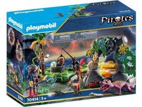 PLAYMOBIL® 70414 Pirátská skrýš pokladu