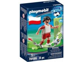 PLAYMOBIL® 70486 Národní hráč Polsko