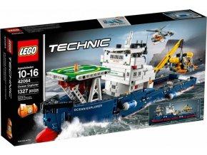 LEGO Technic 42064 Výzkumná oceánská loď - poškozený obal