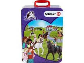 Sběratelský kufřík SCHLEICH koně