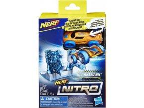 NERF Nitro náhradní autíčko a překážka Sparksmash
