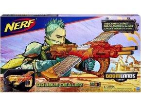 NERF Doomlands pistole double dealer 24 nábojů
