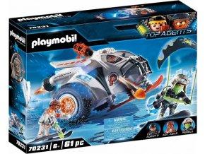 PLAYMOBIL 70231 Spy Team Sněžný kluzák