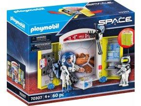PLAYMOBIL 70307 Herni box na vesmirne stanici 1