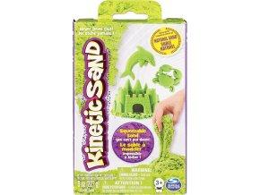 Kinetic Sand Kinetický písek zelený 227g Základní krabice
