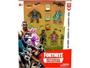 Fortnite Battle Royal sada 4 sběratelských figurek: Dire, Calamity, DJ Yonder a Giddy-Up