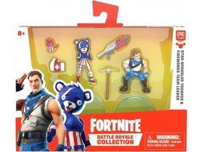 Fortnite Battle Royal sada sběratelských figurek Star-Spangled Trooper a Fireworks Leader