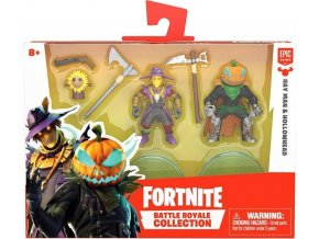 Fortnite Battle Royal sada sběratelských figurek Hey Man a Hollowhead 5 cm