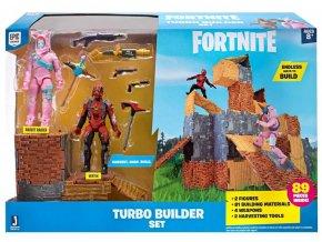 Fortnite Turbo Builder set s figurkami Rabbit Raider & Vertex