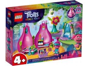 LEGO Trolls 41251 Poppy a její domeček
