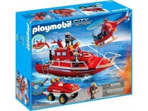 PLAYMOBIL 9503 Velká hasičská akce