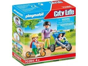 PLAYMOBIL 70284 Máma s dětmi