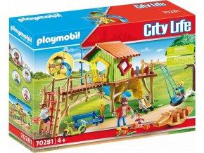 PLAYMOBIL 70281 Dobrodružné dětské hřiště