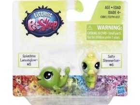 LPS Duhový set 2 ks zvířátek Splashina a Salty