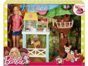 Barbie Záchranná stanice lesních zvířátek
