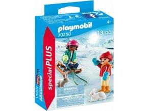 PLAYMOBIL 70250 Děti na sáních