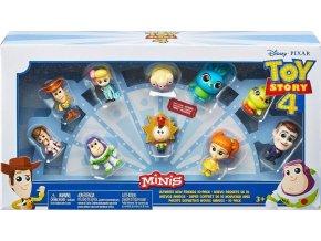 TOY STORY 4: Příběh hraček Kolekce 10 minifigurek