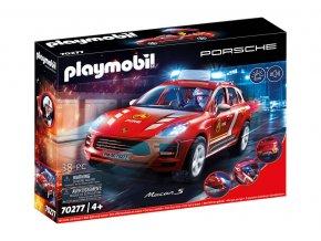 PLAZMOBIL 70277 Porsche Macan S Feuerwehr 04 S
