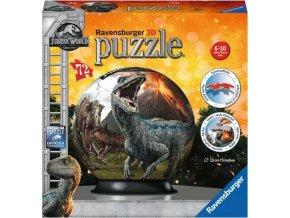 Puzzleball Jurský svět 72d. Ravensburger