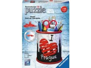 3D Puzzle Stojan na tužky I love Prague 54d. Ravensburger