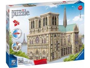 3D Puzzle Notre Dame, 324d. Ravensburger