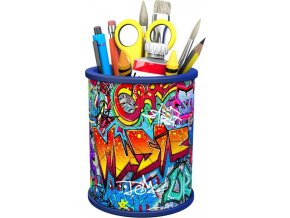 3D Puzzle Stojan na tužky Graffiti 54d. Ravensburger