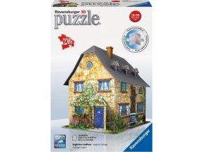 3D Puzzle Anglická chata 216 d. Ravensburger