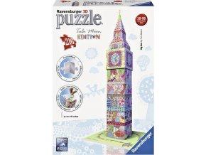 3D Puzzle Big Ben, Tula Moon Edice, 216d. Ravensburger