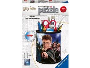 3D Puzzle Stojan na tužky Harry Potter 54d.