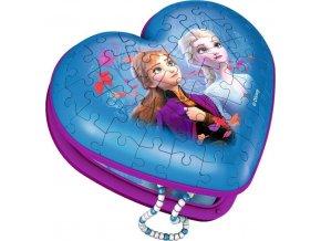 3D Puzzle Srdce Frozen 54 dílků, Ravensburger