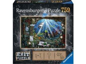 19953 Exit Puzzle: Ponorka 759 dílků