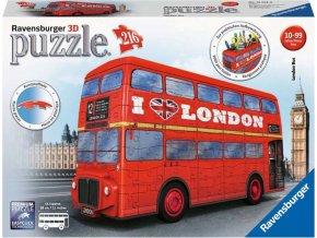 3D Puzzle 12534 Londýnský autobus 216 dílků