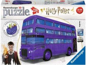 3D Puzzle 11158 Harry Potter Rytířský autobus 216 dílků