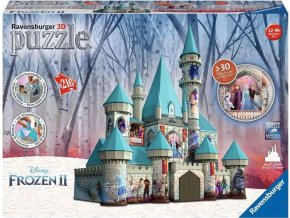 3D Puzzle 11156 Disney Zámek Ledové království 216 dílků