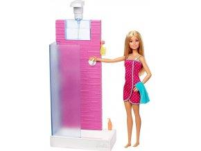 Barbie Deluxe set Sprcha FXG51