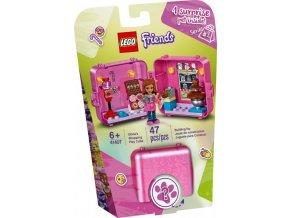 LEGO Friends 41407 Herní boxík: Olivia a cukrárna
