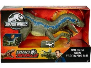 Jurský svět Velociraptor Blue 93cm