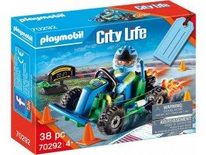 PLAYMOBIL 70292 Závodník motokár