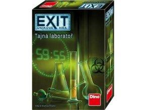 Úniková hra: Tajná laboratoř párty hra