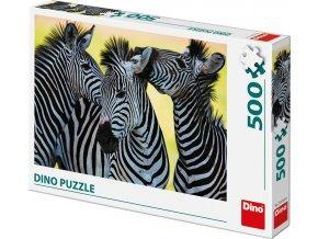 Puzzle Tři zebry 500 dílků