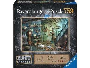 Ravensburger 15029 Exit Puzzle: Zamčený sklep 759 dílků