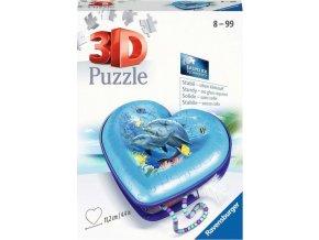 Ravensburger 11172 Puzzle Srdce Podmořský svět 54 dílků