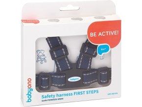 Náhradní bezpečnostní pásy do kočárku Baby Ono modré tmavé