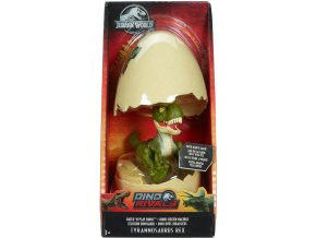 Jursky svet dinosaurici tyrannosaurus rex zeleny