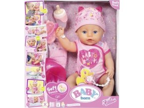 Baby Born Interaktivní panenka Holčička 43cm
