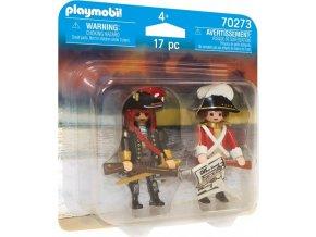 PLAYMOBIL 70273 Kapitán pirátů a velitel vojska