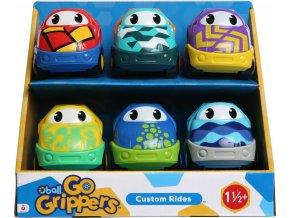 Oball Set autíček Oball Go Grippers Custom Rides 6ks 18m +