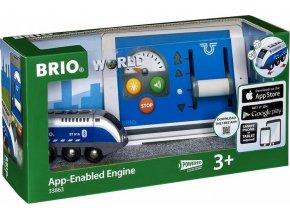 BRIO 33863 Mašinka na ovládání přes tablet