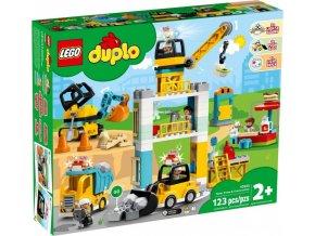 LEGO DUPLO 10933 Stavba s věžovým jeřábem
