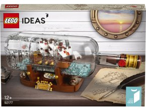 LEGO Ideas 92177 Loď v láhvi